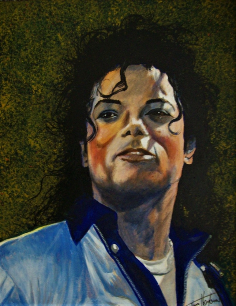 Michael Jackson par Tom-Heyburn